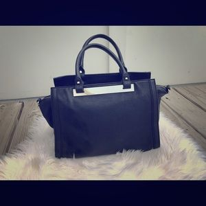 Black Express Satchel